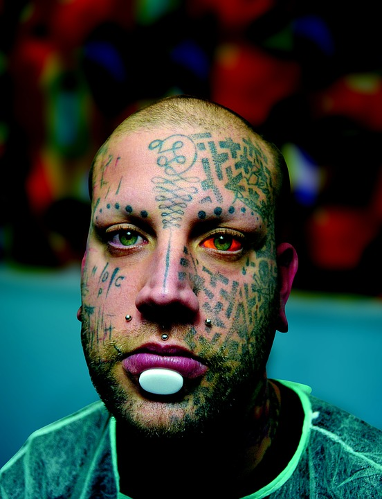 Personas Retrato Tatuaje Foto Gratis En Pixabay