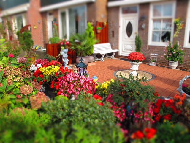 Free photo Holland House Patio Garden Free Image on