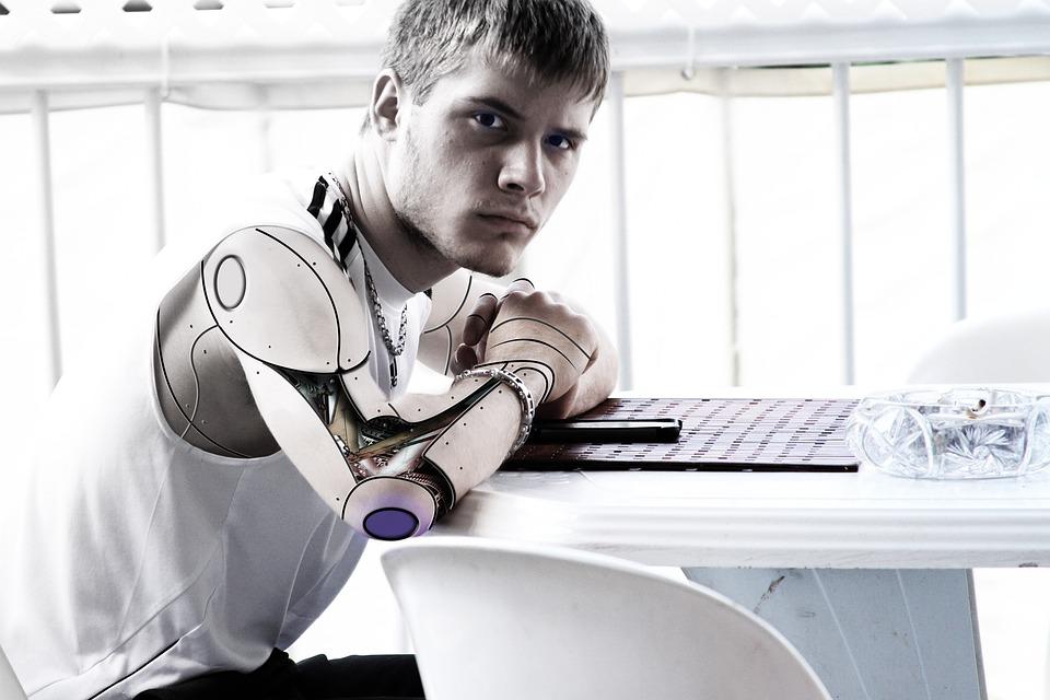 Teens, Robot, Future, Science