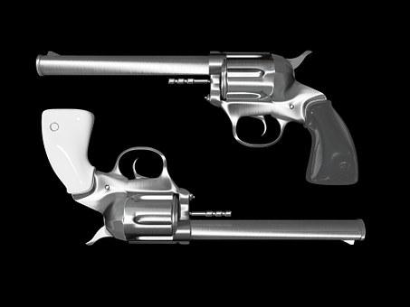 Colt Revolver Pistol Hand Gun Weapon Revol