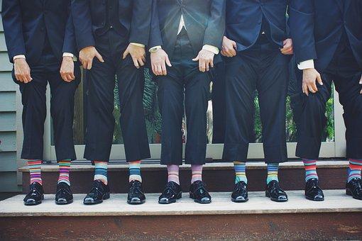 Funny, Socks, Colorful, Pants, Fashion