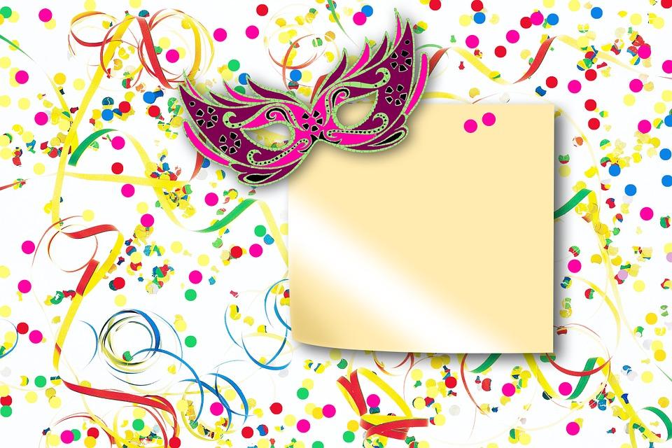 luftschlangen konfetti maske kostenloses bild auf pixabay. Black Bedroom Furniture Sets. Home Design Ideas
