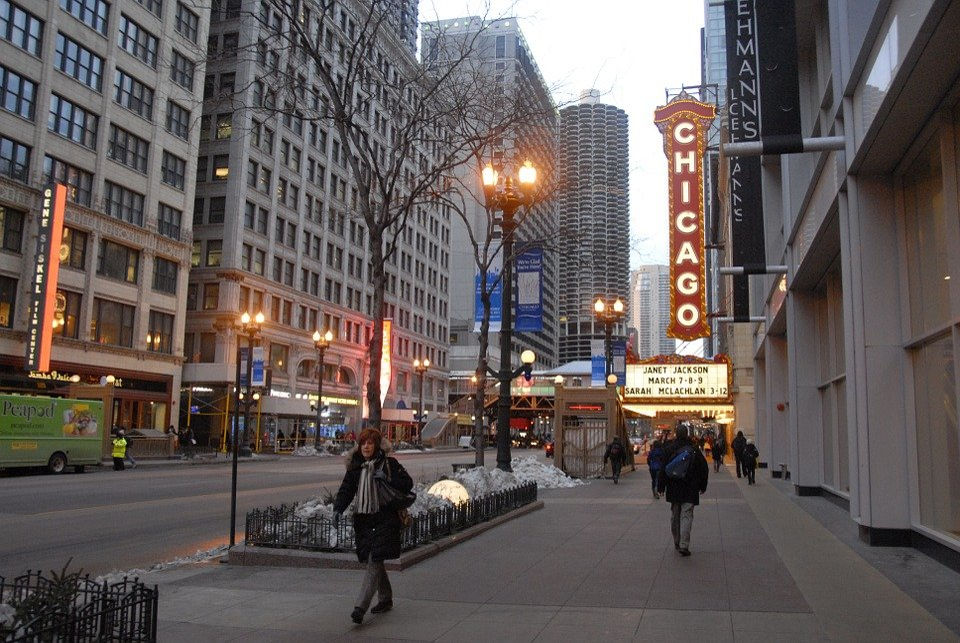 City Street Chicago 183 Free Photo On Pixabay
