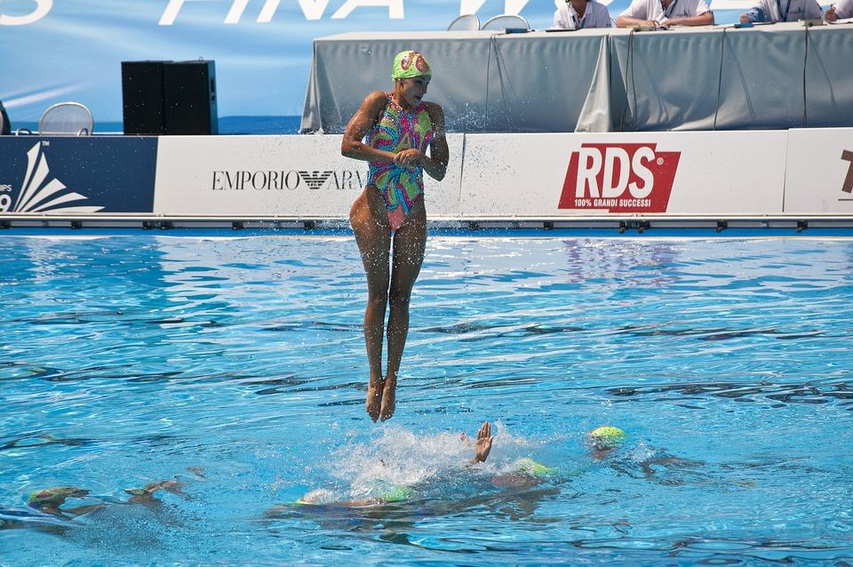 free photo  sport  swimming  synchronized - free image on pixabay