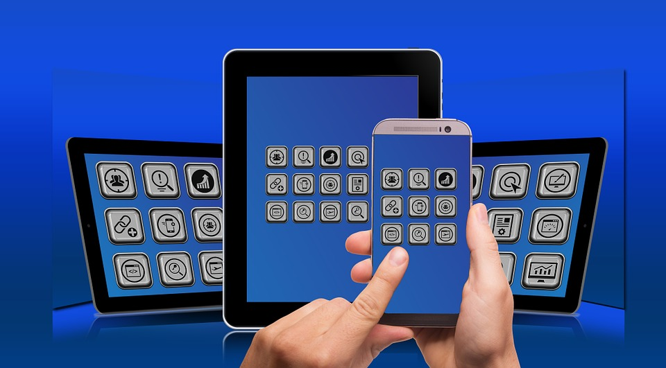 Ponsel, Smartphone, Tablet, Putih, Layar Sentuh, Ipad