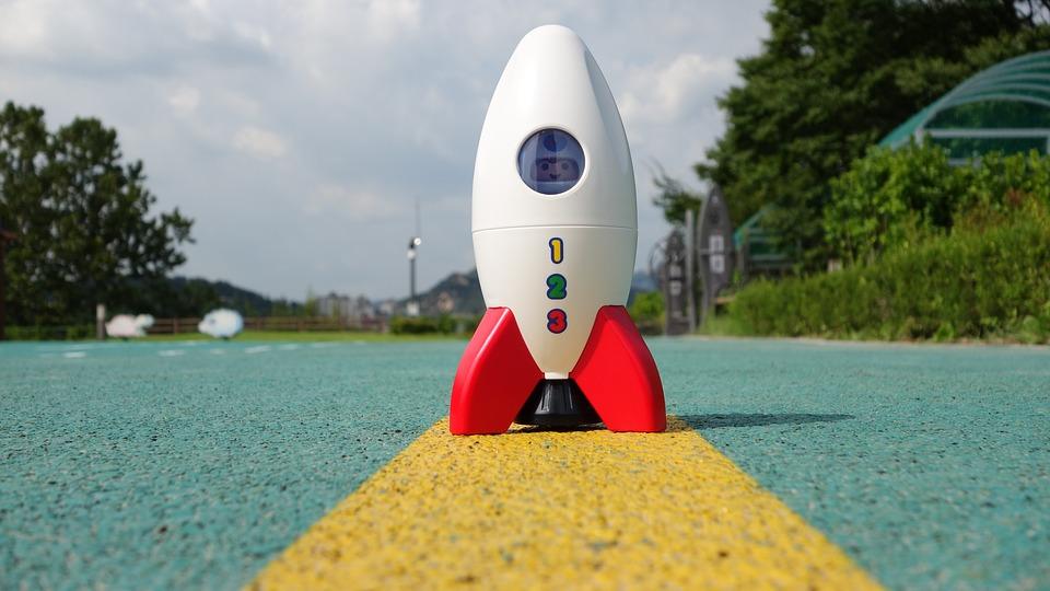 ロケット, おもちゃ, プレイモバイル, 宇宙船