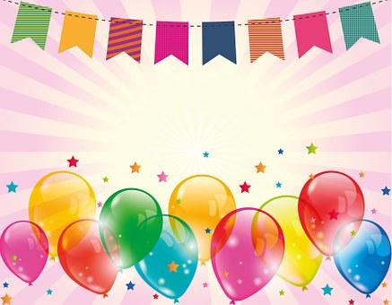 Fasching, Karneval, Luftballon, Fähnchen