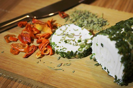 Herbs, Goat Cheese, Cream Cheese