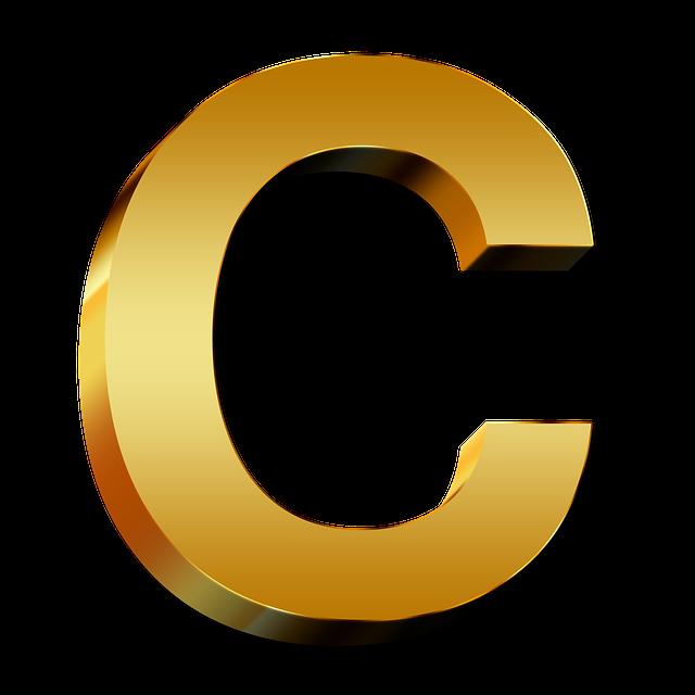Free Illustration  Letters  Abc  Education  Gold - Free Image On Pixabay
