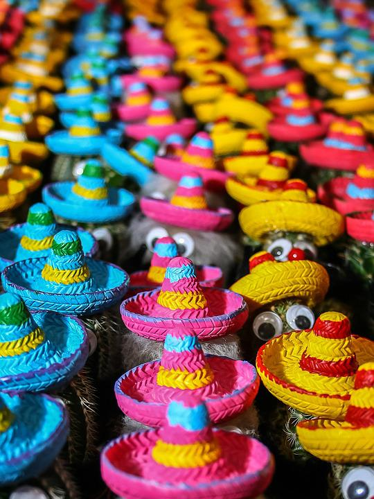 Free Photo Cactus Mexico Hats Colorful Free Image On