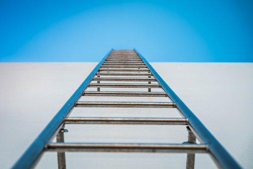 Escalera, Cielo, Hierro Fundido
