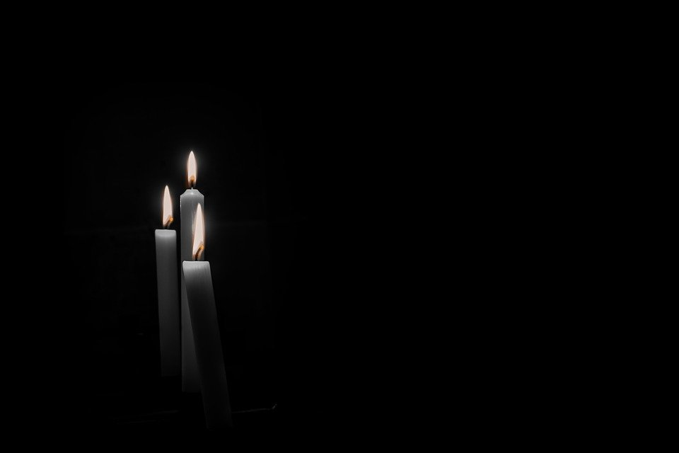candles mourning candlelight free photo on pixabay. Black Bedroom Furniture Sets. Home Design Ideas