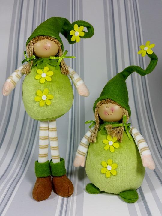 Wichtel Grün Frühling Kostenloses Foto Auf Pixabay