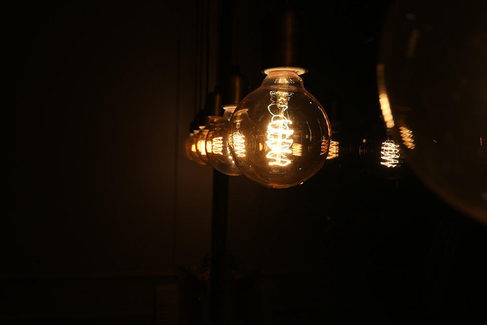 Free Photo Light Bulb Night Time Night View Free