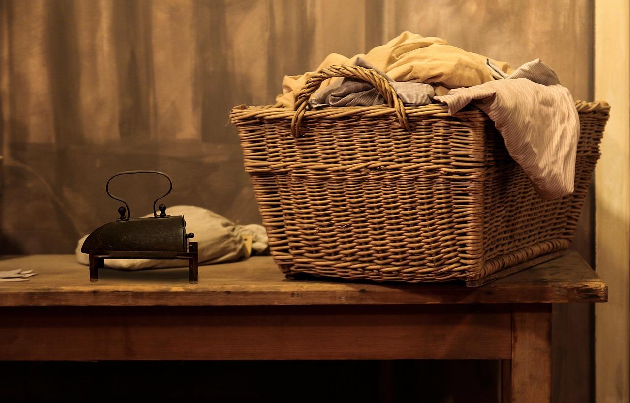 Iron, Old, Laundry