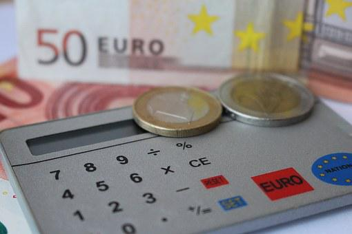 Euro, Comptent, Calculatrice