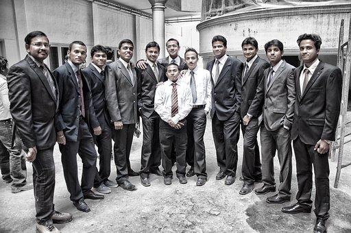 企業, 大学生, ボス, ビジネス, 人, オフィス, Professional