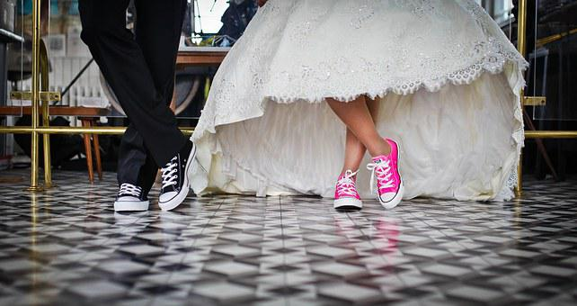 Marriage, Bridal, Wedding, Shoes, Dance