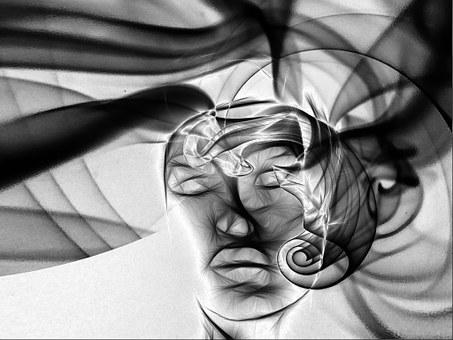 Face, Âme, Tête, Fumée, La Lumière
