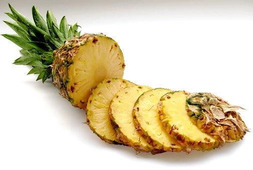 Pineapple, Fruit, Vitamins