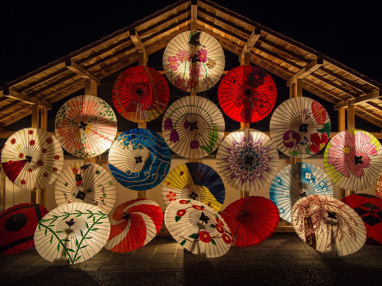 Japanese umbrellas 636870 1280