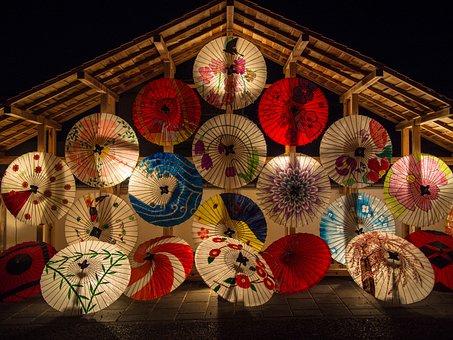 Japanese Umbrellas, Umbrella