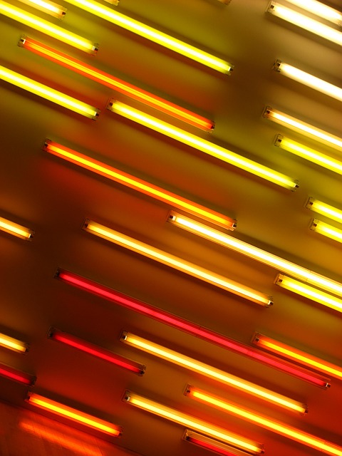 Free Photo Neon Neon Lights Orange Red Free Image On