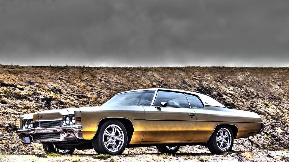 Chevrolet Impala 1972 Pixabayde ücretsiz Fotoğraf