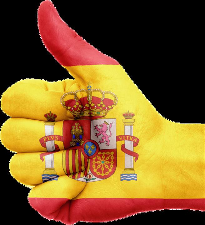 España, Bandera, Mano, País, Nacional, Orgullo