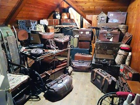 Luggage, Trunk, Storage, Stock
