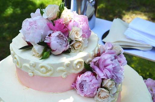 Wedding Cake, Wedding, Cake, Marriage