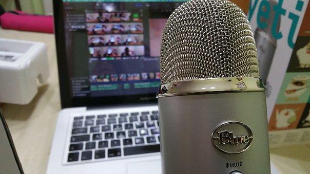 Mikrofon, Audio, Radio, Komputer