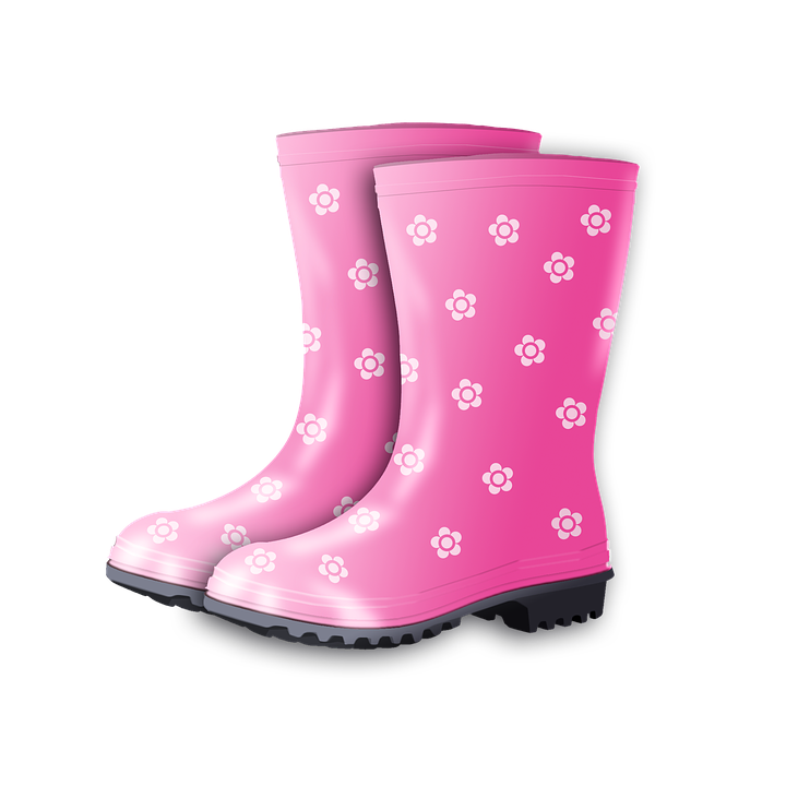 free illustration rubber boots autumn boots