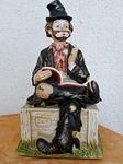 statuette, vagabond, book