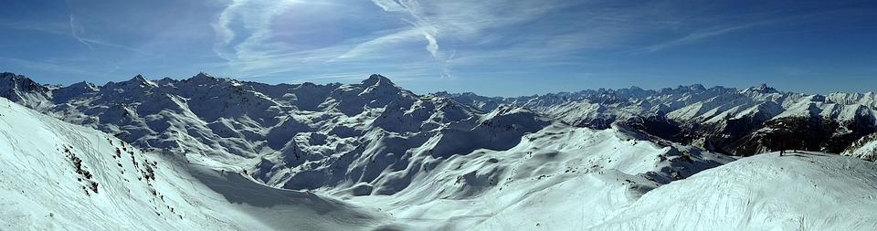 Panoramique montagne alpes photo gratuite sur pixabay - Photos de neige gratuites ...