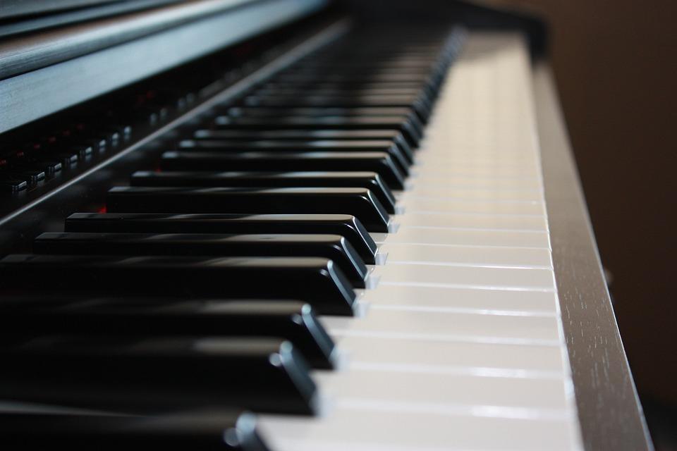 Piano, Keyboard, Keys, Black, Musical, Instrument