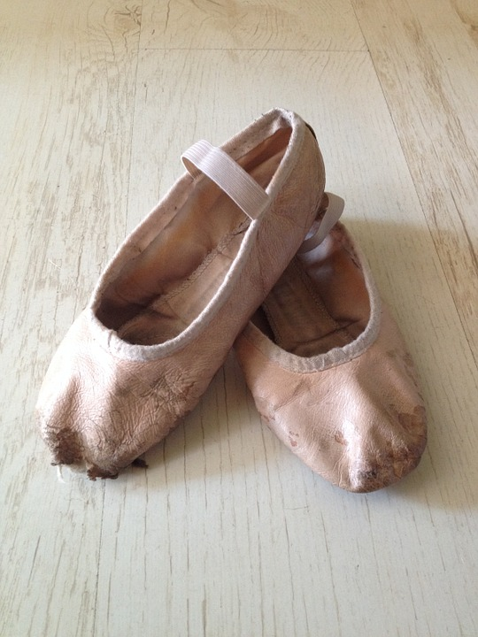 Ballet Shoes, Pink, Ballet, Dance, Girl, Ballerina