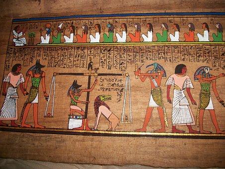 Ägypten, Anubis, Urteil, Gott