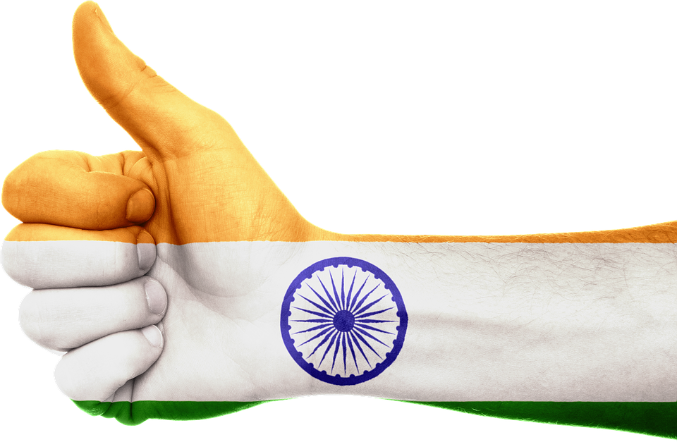 India Flag Hand Free Image On Pixabay