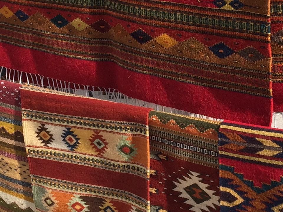 Bunte Teppiche china handgetuftet florales muster kinderzimmer
