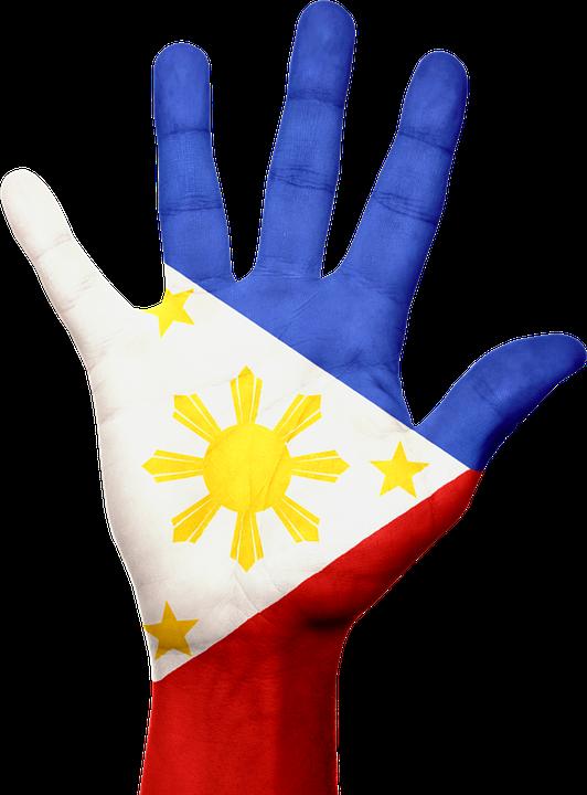 Philippines Flag Hand Free Image On Pixabay