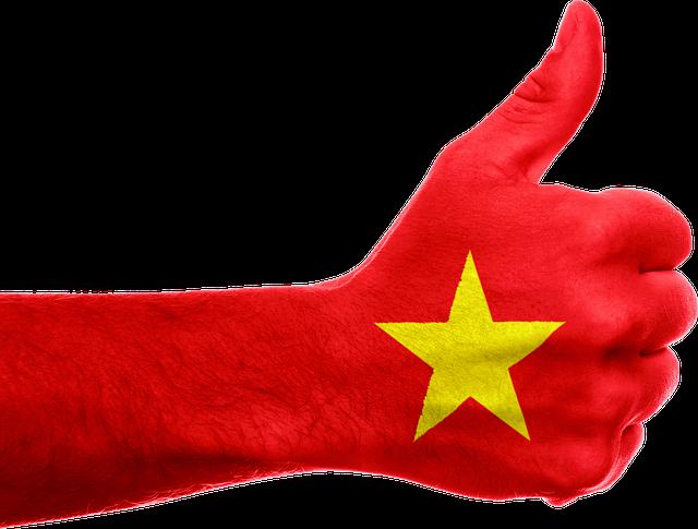 Vietnam Flag Hand Thumbs · Free image on Pixabay