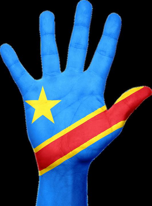 Illustration Gratuite Congo Drapeau Main Afrique