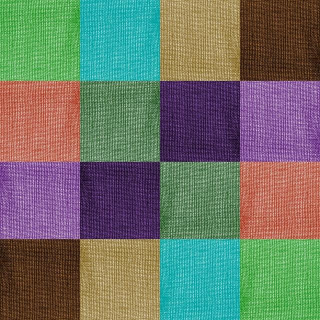 Free Illustration Colorful Fabric Design Geometric