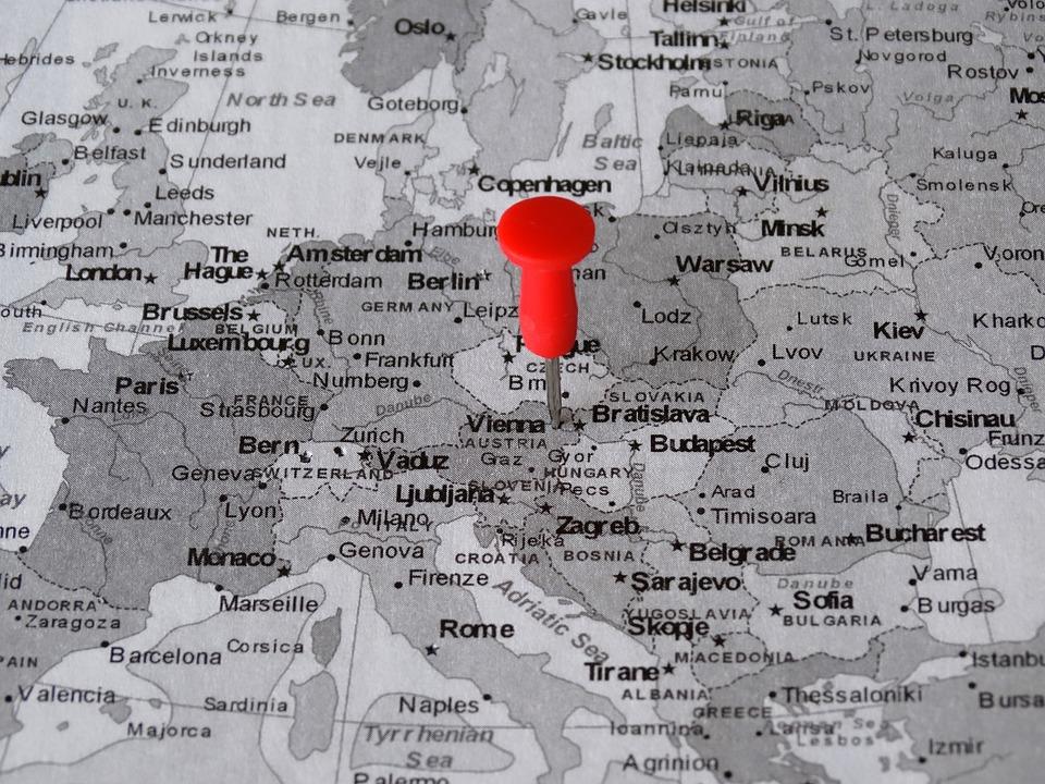 Atlas Kartta Wien Ilmainen Valokuva Pixabayssa