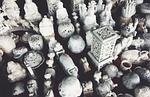buddhism, statutes, objects