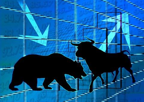 Stock Exchange, Bull, Bear, Securities
