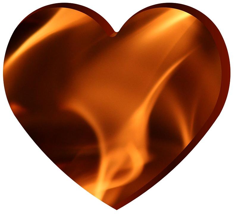 Fire Heart Burn Free Image On Pixabay