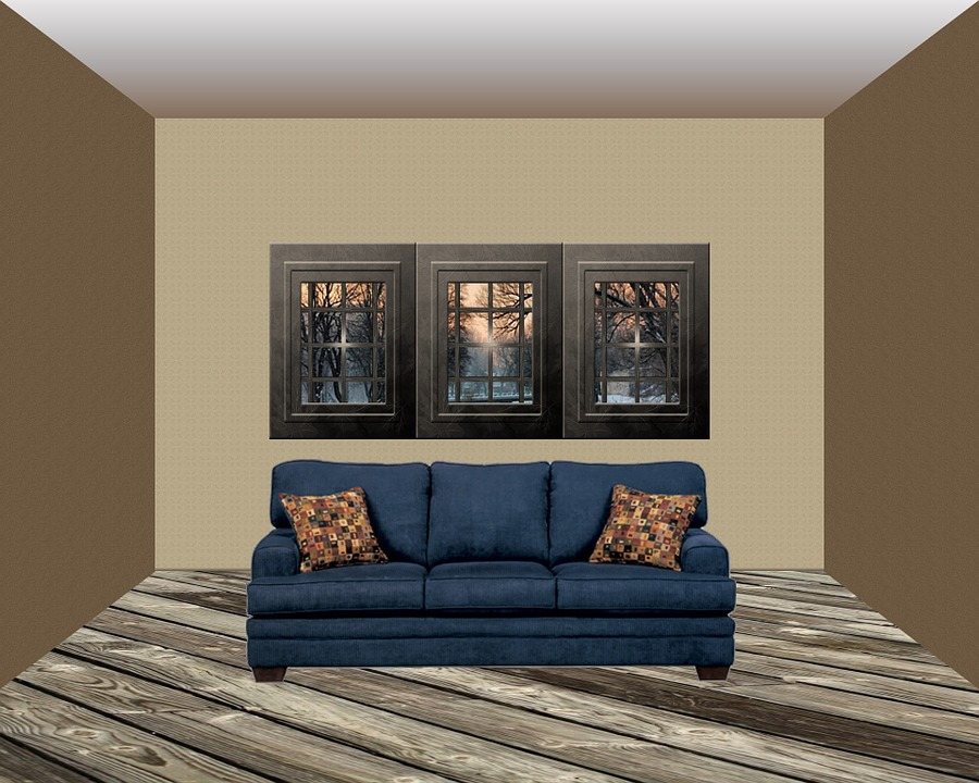 Room Interior Background Living House Home Sofa