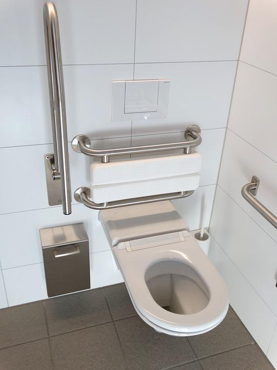 Free photo toilet wc loo modern new clean free for Carrelage mural wc